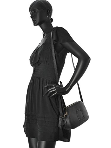 Sac Bandoulière Paris Cuir femme marron Noir