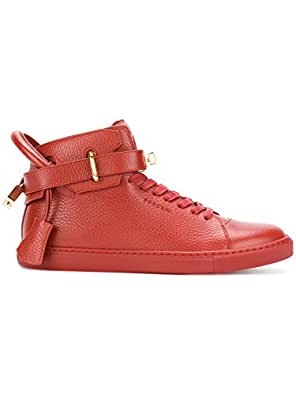 BUSCEMI Hi Top Sneakers Uomo 417Sm100lw450a0045 Pelle Rosso