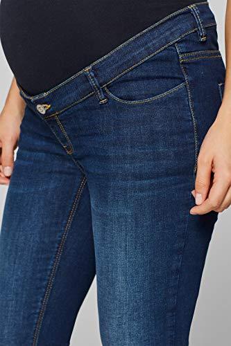 ESPRIT Maternity Stretch-Jeans mit Überbauchbund -
