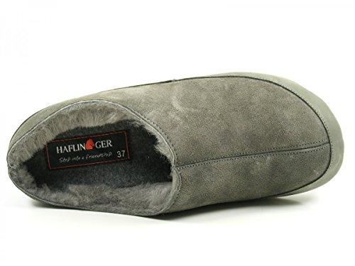 Haflinger Everest Russia 481012-0-4 Pantofole donna Grau