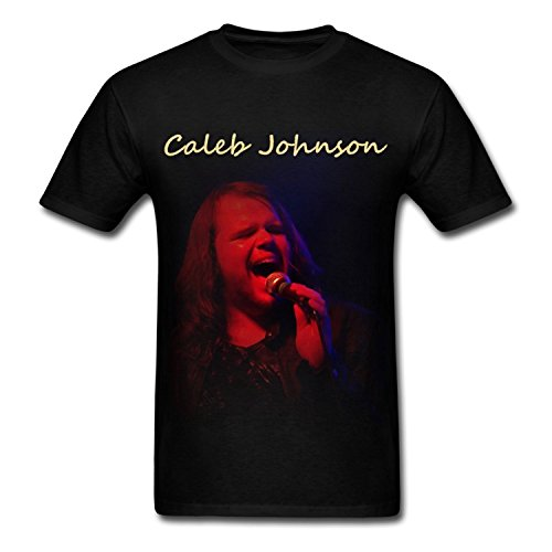 hommes-caleb-johnson-singer-american-idol-noir-t-shirt-xxxx-large