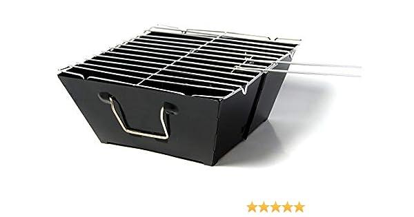 praktischer Reisegrill mit abnehmbaren Grillrost !! VENTON Stabiler Minigrill