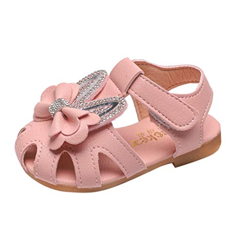 �uglingsbaby Süße Elegante Bowknot Kristall Prinzessin Shoes Sandals Kinder Schuhe Infant Baby Mädchen Einzelne Schuhe Party Single Casual Sneaker ()