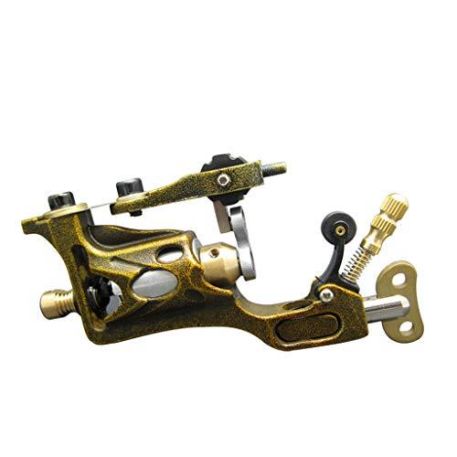 Tätowierungsmaschine Secant Fog Aluminium Mit Starkem Körper Aus Importiertem Motorensound (Color : Gold) -
