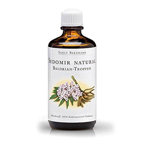 Sedomir natural Baldrian-Tropfen mit 100% Baldrian-Wurzel-Tinktur 100 ml