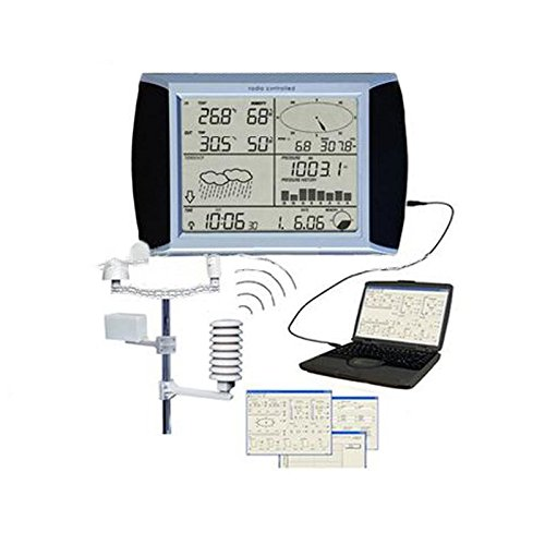 USB Wetterstation, drahtlos, LCD Touchscreen (Usb-wetterstation)