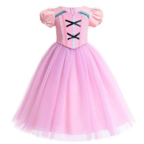 Gaga city Kostüm Prinzessin Mädchen Kleid Cosplay Hochzeit Geburtstagsfeier Karneval Party Kleider für - Kind Kostüm Party City