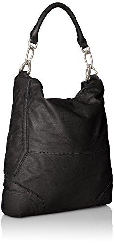 Liebeskind Berlin Damen Tokiow Vintag Schultertaschen, 35x39x12 cm ninja black