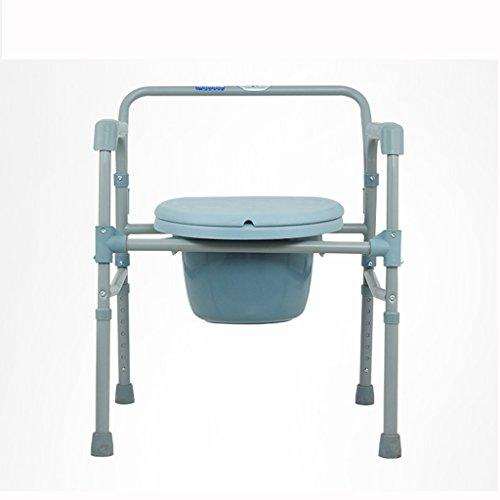 Chaise d'aisance pour siège de toilette pour personnes âgées Banquette de douche pour siège de toilette La toilette pour personne âgée peut être pliée