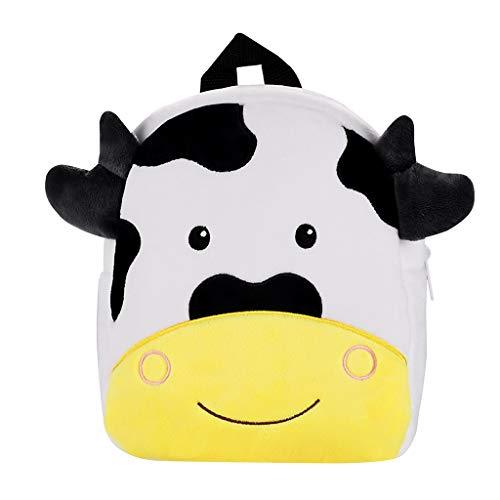 Ledertasche, Schultertasche, Geschenk, Handgefertigte Tasche,Kinder Kinder Jungen Mädchen Mode Niedlichen Cartoon 3D Tier Schulter Rucksack Taschen ()