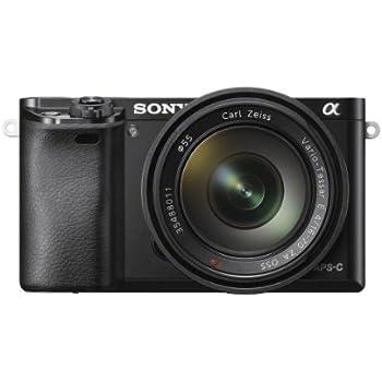 Sony Alpha 6000Z Fotocamera Digitale Compatta, Obiettivo Intercambiabile, Sensore APS-C CMOS Exmor HD da 24.3 MP, Obiettivo 16-70 mm, Nero