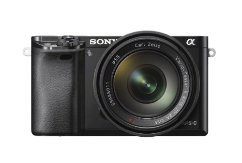 SONY A6000 - CAMARA EVIL DE 24 MP (PANTALLA LCD 3  ESTABILIZADOR OPTICO  VIDEO FULL HD  WIFI)  NEGRO - KIT CUERPO CON OBJETIVO 16 - 70 MM (SEL1670Z)