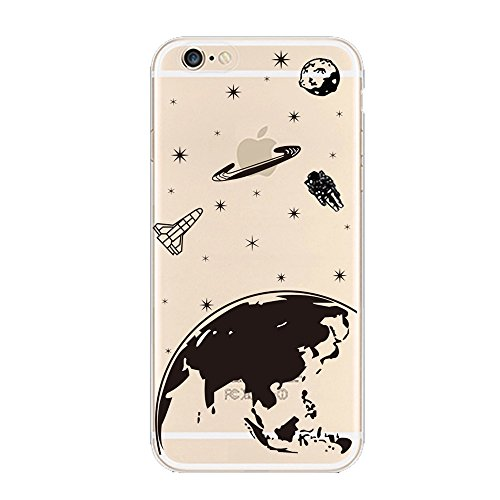 keyihan-iphone-6s-case-iphone-6-cover-planet-interstellar-pattern-transparent-clear-thin-slim-soft-t