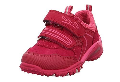 Superfit Baby Mädchen Sport4 Sneaker Rot/Rosa 50, 24 EU