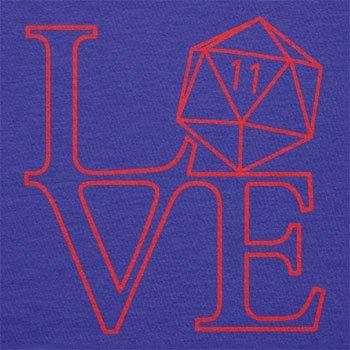 TEXLAB - RPG Love - Herren Langarm T-Shirt Marine