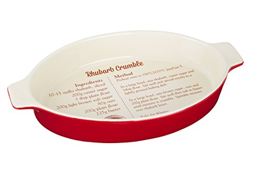 Premier Housewares From Scratch Baking Dish, 1.35 L - Red