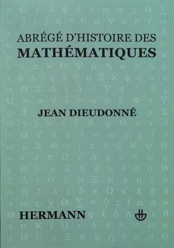 Abrégé d'histoire des mathématiques