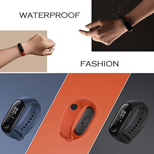 Acalder 12 Piezas Pulsera Xiaomi Mi Band 3 Correas Reloj Silicona Banda para XIAOMI Mi Band 3 Reemplazo -  12 Colores