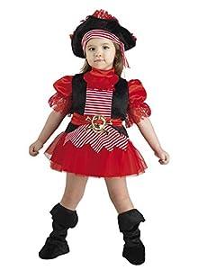 Clown Republic 18136/36 - Disfraz de pirata para niña, multicolor