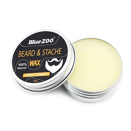 range Mann Gesichtspflege Bartwichse Natur- und Bio-Beard Styling Wachs Form Sicher Zutaten Schnurrbart Grooming Kit ()