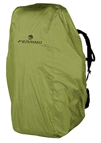 Ferrino - Waterproof Backpack Cover, color yellow, talla 15-30 Liters