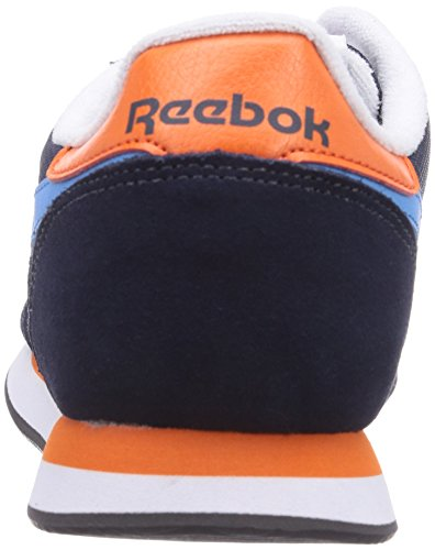 Reebok - Royal Classic Jogger, sneakers  da unisex adulto Blu(Blau (Faux Indigo/California Blue/Orange Dusk/White/Black/Collegiate Royal))