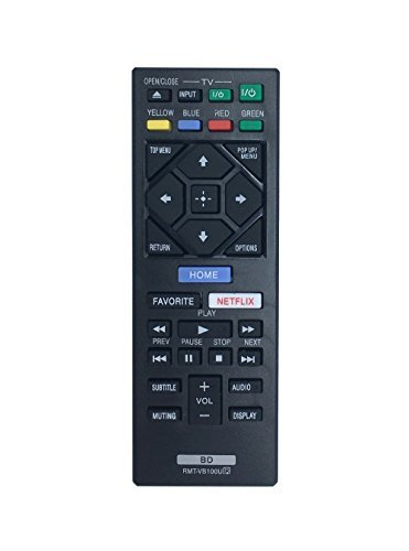 VINABTY NEW RMT-VB100U Replaced BLU-RAY PLAYER Remote fit for SONY Player BDP-BX150 BDP-BX350 BDP-BX550 BDP-BX650 BDP-S1500 BDP-S2500 BDP-S2900 BDP-S3500 BDP-S4500 BDP-S5500 BDP-S6500  available at amazon for Rs.2027