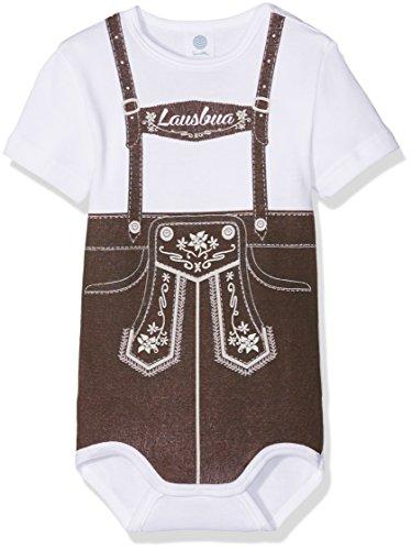 Sanetta Baby-Jungen Body 322222 Weiß (White 10) ()