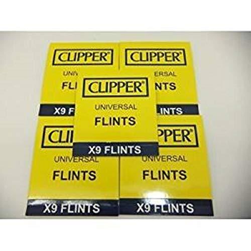 45 Clipper Feuerzeug Feuersteine, Funktioniert mit allen Stein Feuerzeugen inkl. Zippo Feuerzeugen