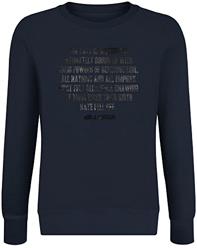 Das Schicksal der Nationen - The Fate of Nations Sweatshirt Jumper Pullover for Men & Women Soft Cotton & Polyester Blend Unisex Clothing Small