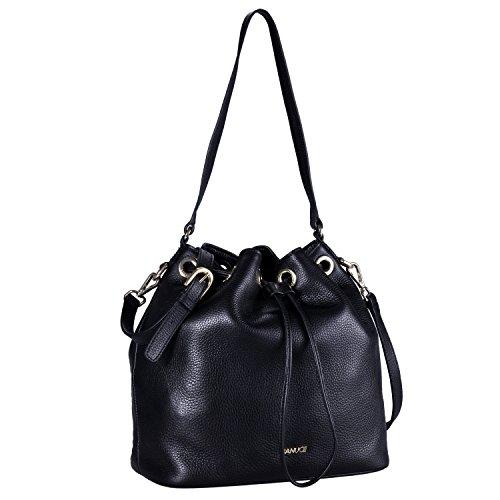 Banuce , Sac pour femme à porter à l'épaule Noir noir noir