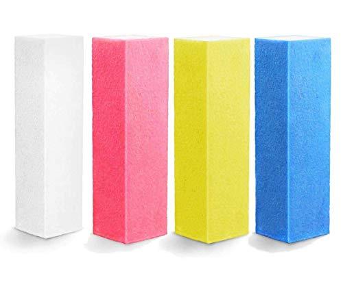 PREMIUM EuBeCos Feilblock/Buffer 4-er Set (EU Produkt) - Buffer Nagelfeile