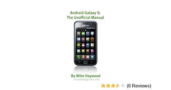 samsung galaxy s the unofficial manual also known as vibrant epic rh amazon in Samsung Galaxy S Fascinate Review Samsung Galaxy S Fascinate Phone