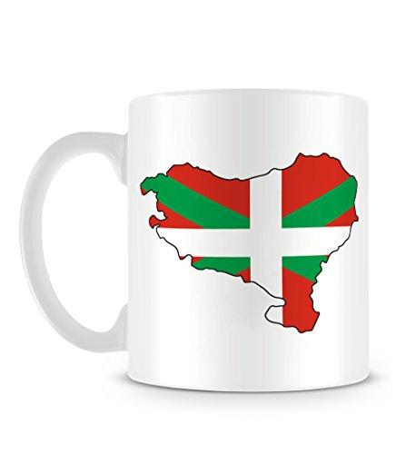 Cool Basque Country Euskal Herria Pays Basque País Vasco Flag Map Ban