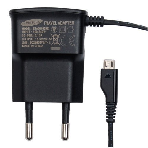 Original Samsung Handy Ladegerät Ladekabel für kompatible Samsung Mobiltelefone mit Micro USB Anschluss