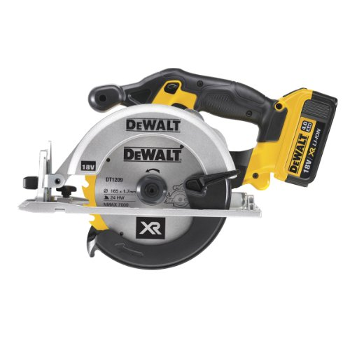 DeWalt 18V 165mm XR Lithium-Ion Circular Saw with Batteries