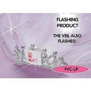 Gifts 4 All Occasions Limited SHATCHI-954 - Velo para despedida de soltera con placa en forma de L en la tiara, multicolor