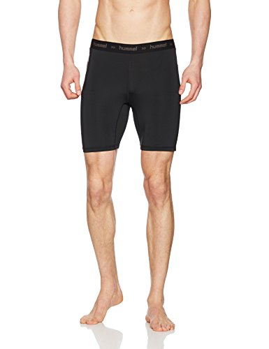 hummel Herren First Perf Short Tights, Black, M