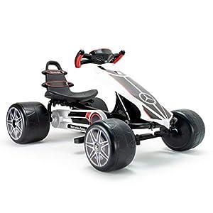 INJUSA Go Kart Mercedes para Niños de más de 2 Años con Sillín Ajustable y a Pedales, Multicolor (4122)