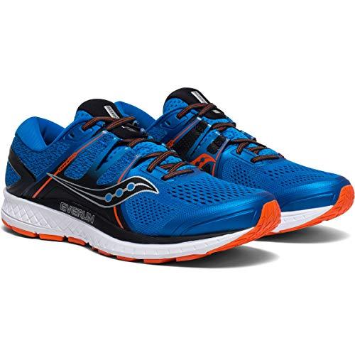 Saucony Omni ISO Men Laufschuhe Blue/orange | SS20442-36, Größe:US 14 - Euro 49 - cm 32 - UK 13 - 13 Saucony Herren Größe