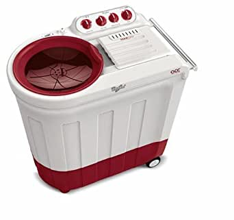 Whirlpool Ace 80A Semi-automatic Top-loading Washing Machine (8 Kg, Coral Red)