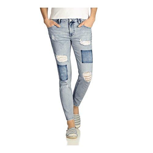 Fritzi aus Preussen Damen Boyfriend Jeans D01 Cincin Light Blue