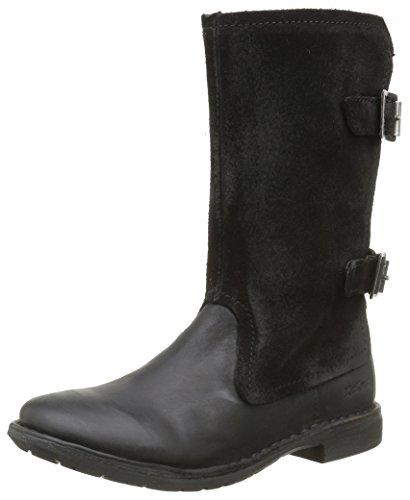 KickersGroopie - Stivali classici al ginocchio Bambina , nero (nero), 33 EU