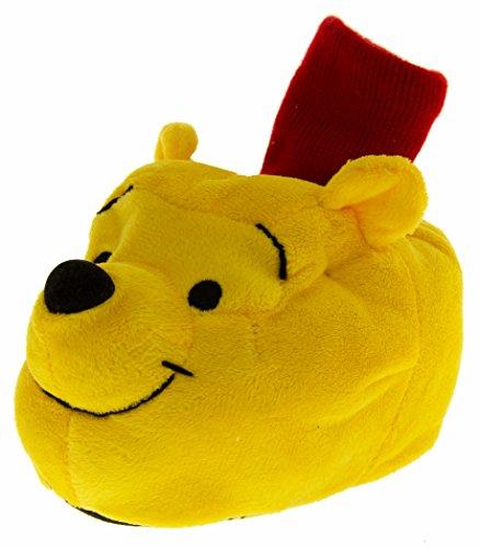 Footwear Studio - Stivali a Gamba Larga bambino , Giallo (Winnie The Pooh), 24