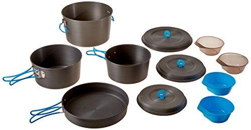 StanSport Familien Hardcase aus eloxiertem Aluminium Cook-Set Family Cookset