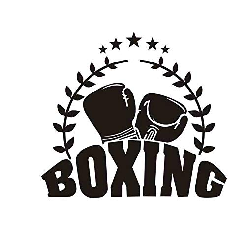 zxddzl Boxhandschuh Aufkleber Kick Boxer Spielen Auto Aufkleber Free Combat Poster Vinyl Striker Wandtattoos Parede Decor Boxing Sticker-90x80cm (Gucci Kicks)