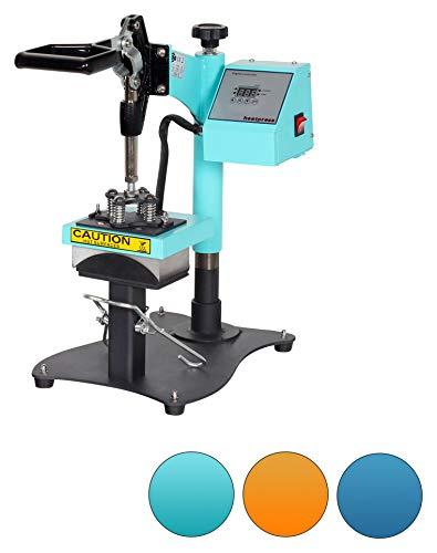 RICOO Mützen-Presse Transfer-Presse Textildruck-Presse CT505-TB Thermo-Presse Cap-Presse, Farbe:Türkisblau