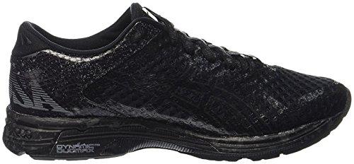 Asics Gel-Noosa Tri 11, Chaussures de Running Entrainement Femme, Blanc Multicolore (Black/black/charcoal)