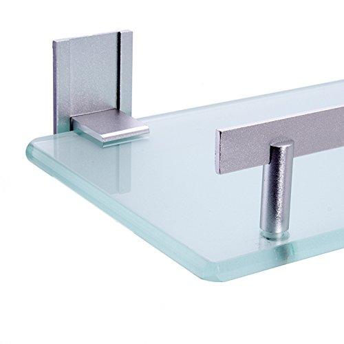 msv bad regal tabarca eckregal duschregal aus aluminium und glas kleben und bohren. Black Bedroom Furniture Sets. Home Design Ideas