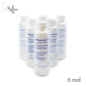 Ultraschallgel KK Kontaktgel Sonogel 250 ml Flasche 6x , 12x oder 24 x